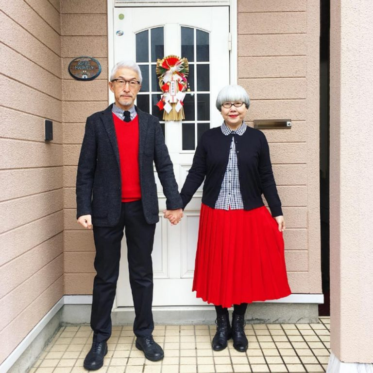 Relationship goals! Japanese couple wear matching outfits