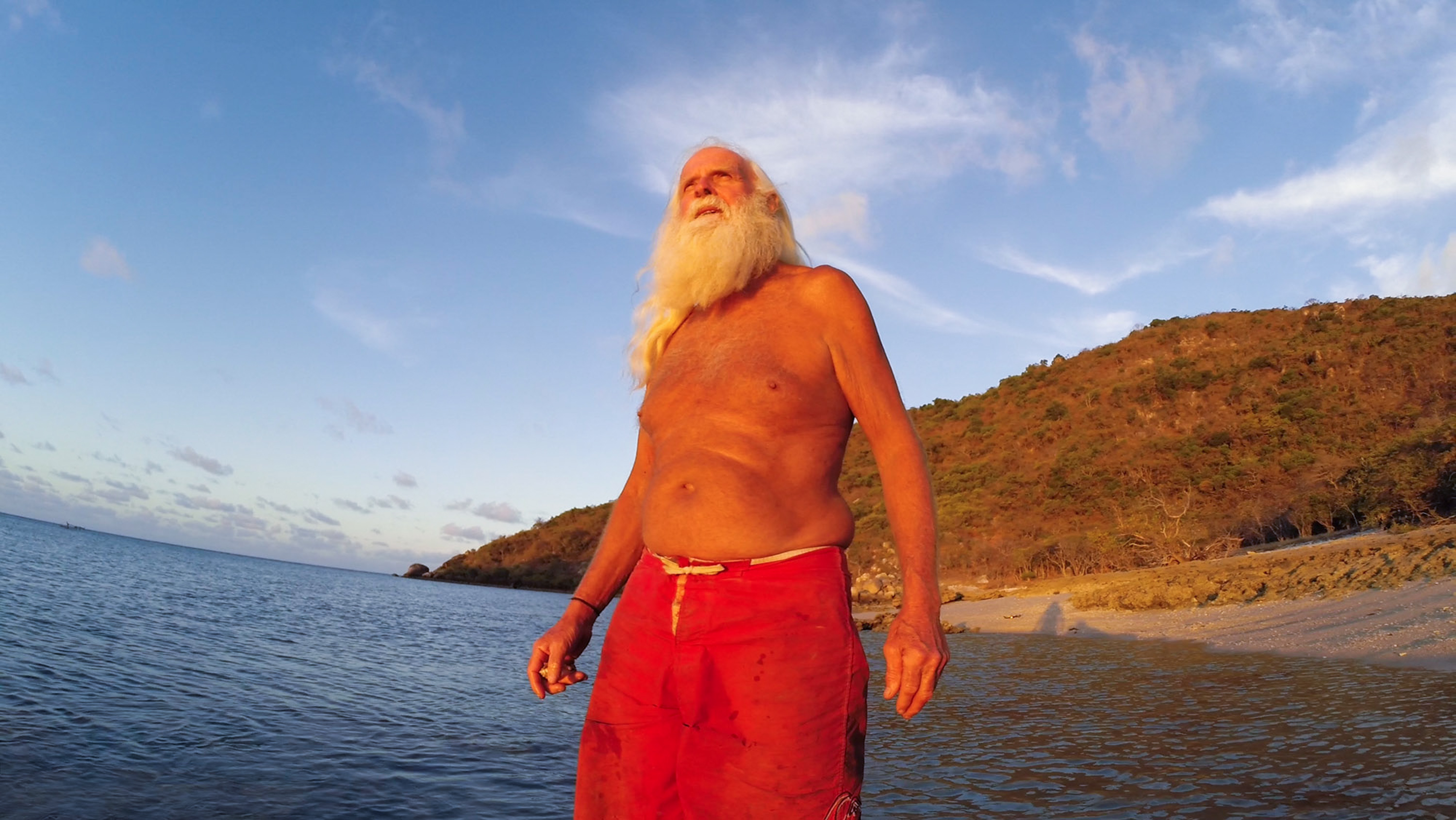 A ruined Australian millionaire has been living alone on an uninhabited island for 20 years