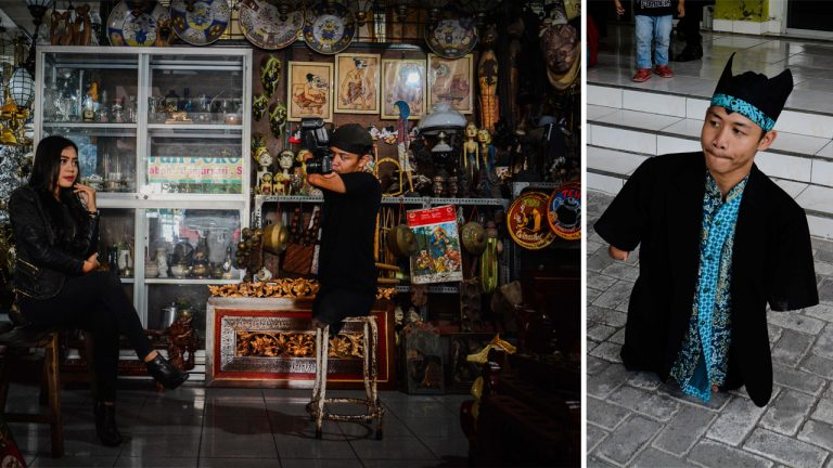 Limbless Indonesian Photographer Shares His Story In Bid To Encourage People Like Him