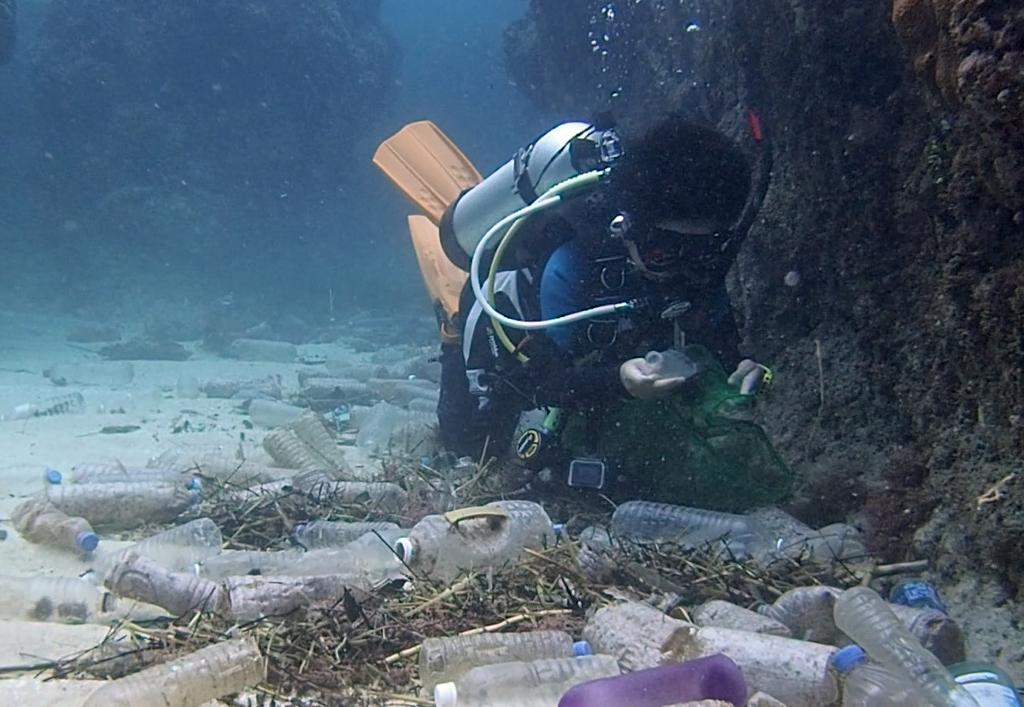 Shocking Footage Shows Extent Of Plastic Waste On Bottom