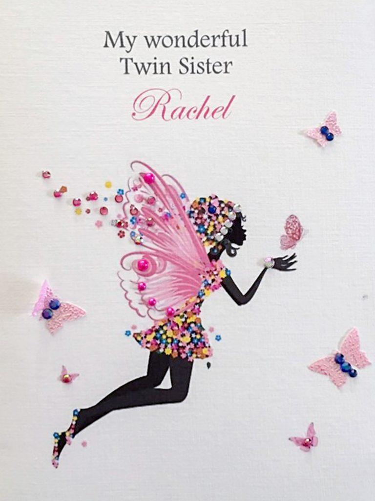 Ps I Love You Identical Twin Sends Her Sister Birthday Cards From