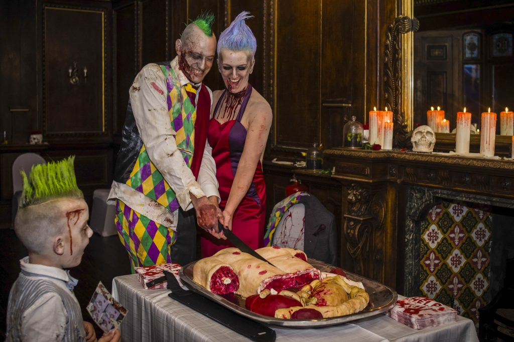 Zombie Wedding Gifts: Night Of The Loving Dead! Bride And Groom Declare Death
