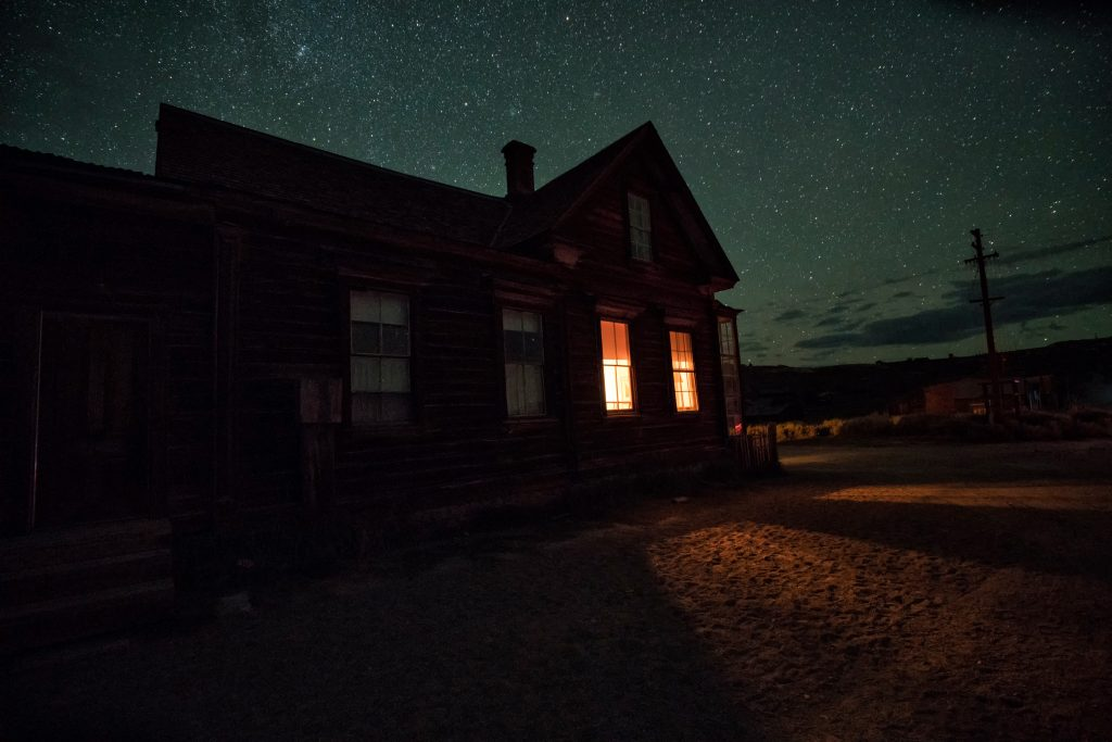 Haunting images beneath the milky way showcase one of for Abandoned neighborhoods in america