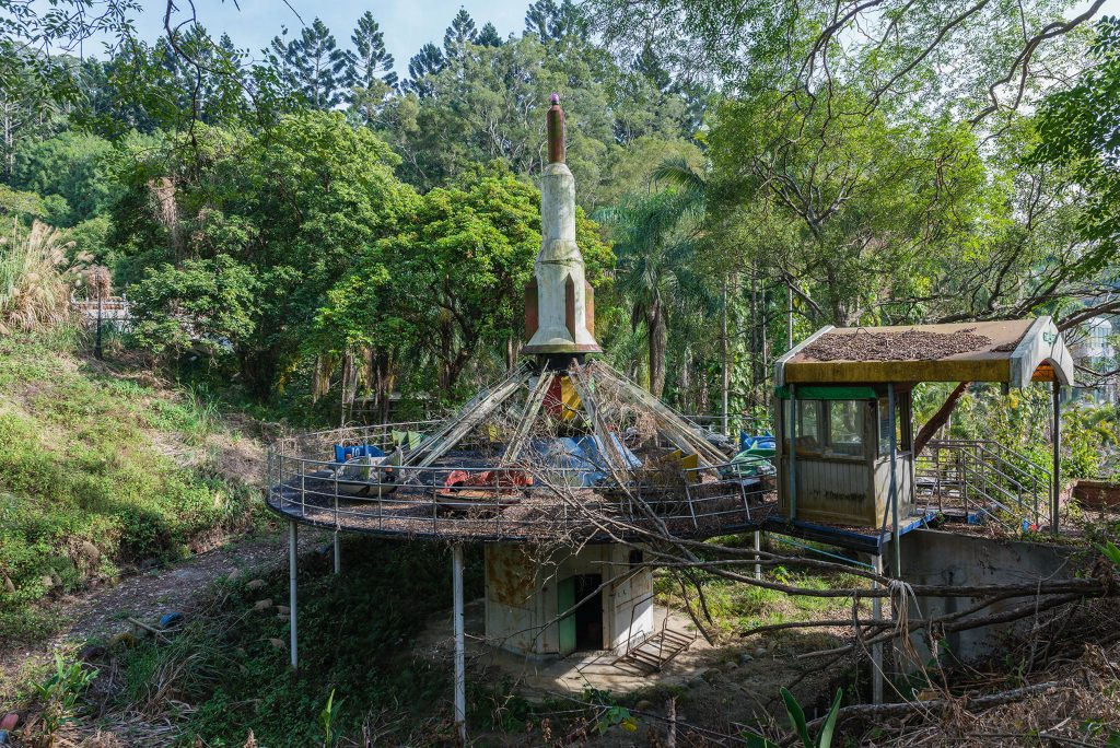 Abandoned Jungle Theme Park Slowly Reclaimed By Nature And Giant Spiders After Devastating Earthquake Caters News Agency