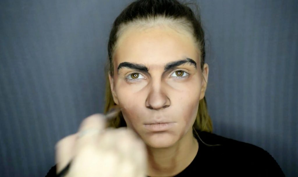 Talented make-up artist transforms model into Cristiano ...