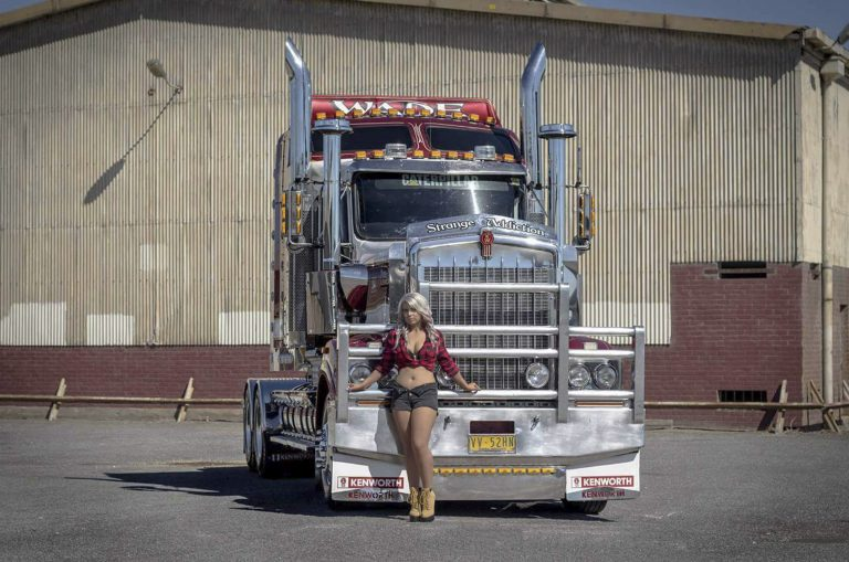 meet the worlds sexiest trucker