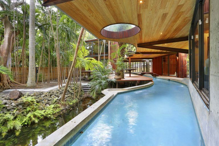 The Amazing Hidden Lazy River Which Runs All Way Through This Ordinary Looking Home