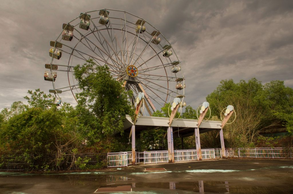 Haunting Photography Series Of Abandoned Theme Parks Is Nostalgic Roller Coaster Caters News Agency