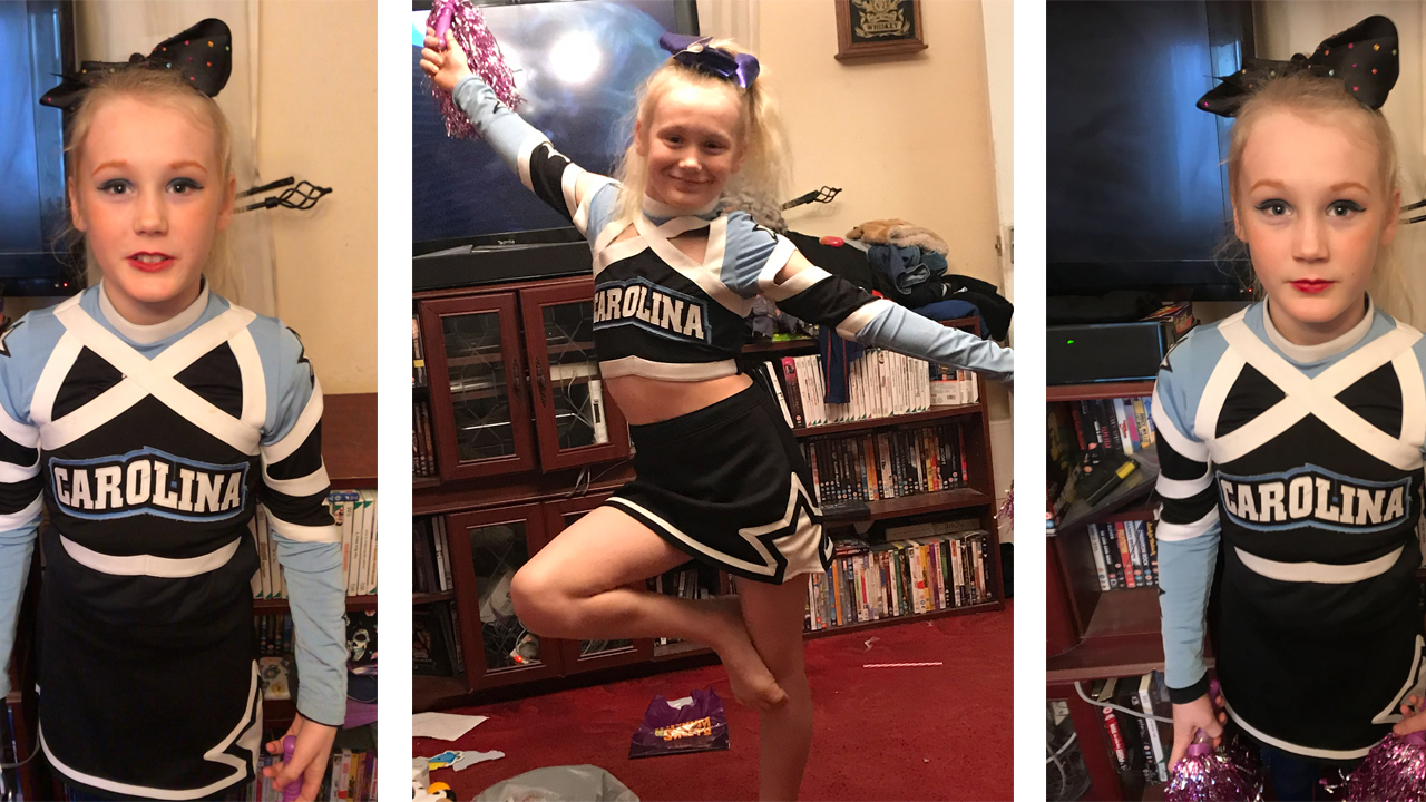 Rock star  boy goes to school dressed as female cheerleader because  girls  are awesome  – despite being teased and called  gay  - Storytrender c1b20e76acea