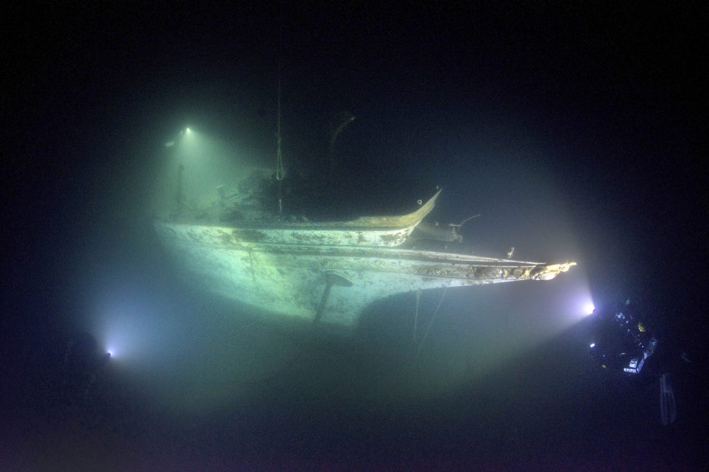 Century old sunken ship preserved in perfect condition