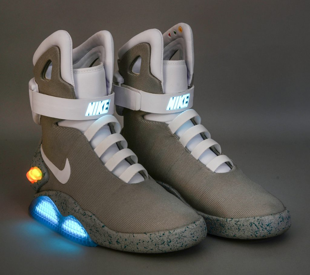 19248ccb3e3 Great Scott! Self-lacing trainers from Back to the Future up for ...