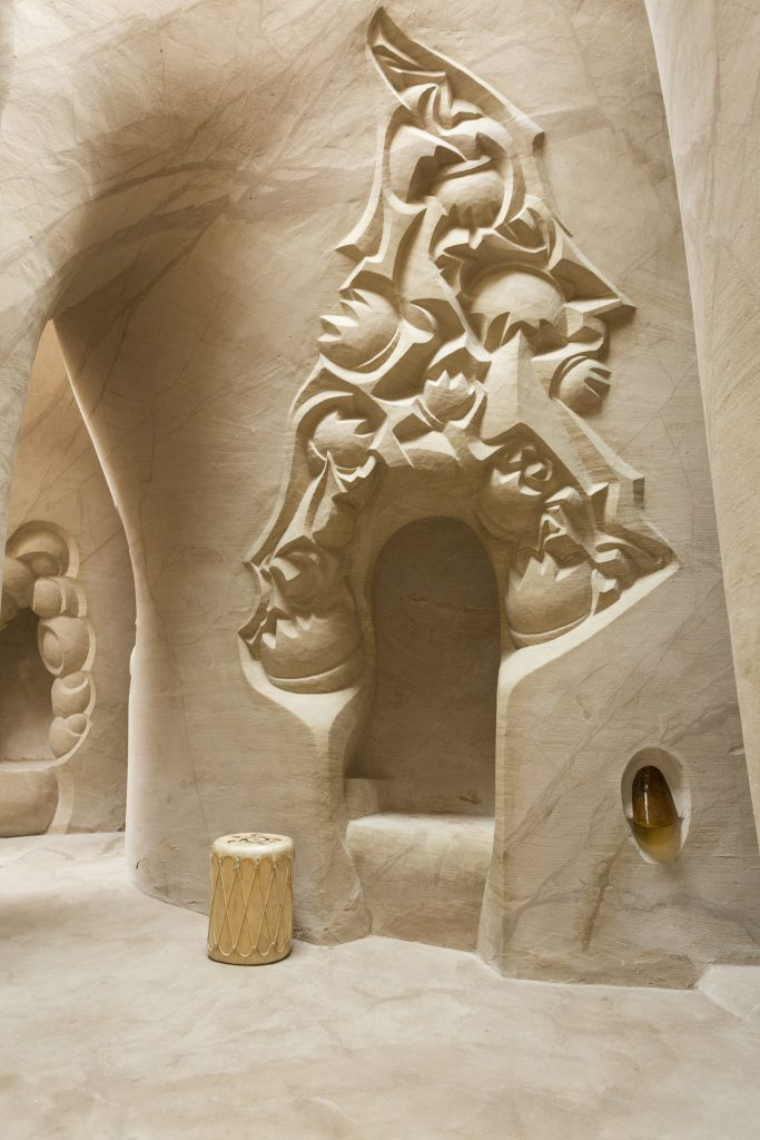 Real Life Sand Castle Look Inside The Hidden Away Cave