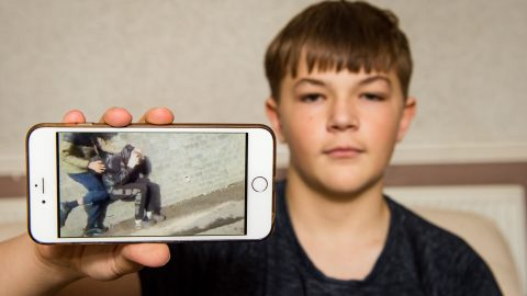 Schoolboy too terrified to leave house after teens filmed horror Happy Slap snapchat attack receives cards and gifts strangers Image