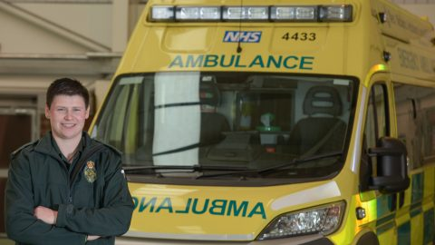Sex change life saver could be Britain's first transgender paramedic Image
