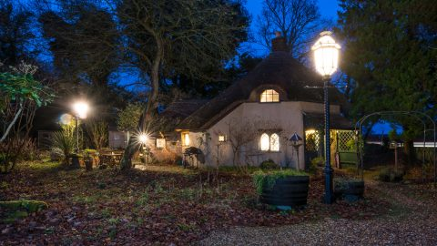 Fairy tale vending: Hansel and Gretel-style cottage once used as love nest by artist on market for £400k Image