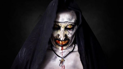 I'll Have Nun Of That! Woman Reveals Terrifying Make-Up Transformation Into 'The Nun' Image