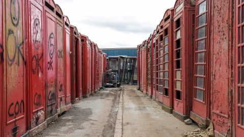 Inside The Uk's Only Phonebox Graveyard – Where Iconic Red Boxes Are Sent To Be Given New Lease Of Life  Image