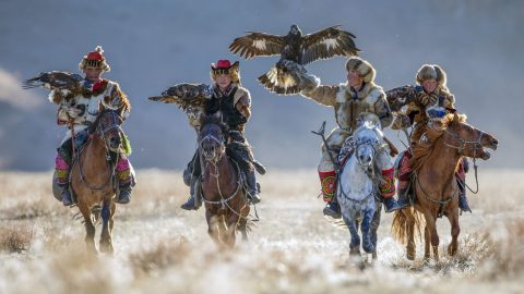 Golden eagle festival gives rare insight into ancient culture Image