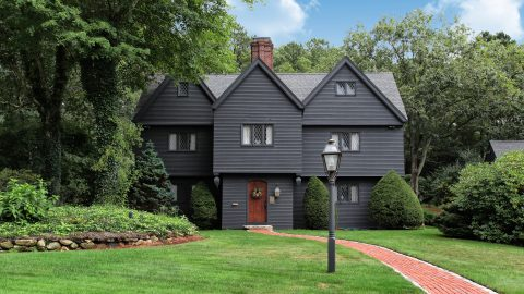 Purchase if you dare – perfect replica of SALEM WITCH HOUSE hits the market   Image