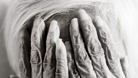 Abstract photo series gets up close and personal with the bodies of those who have lived to be 100 Image