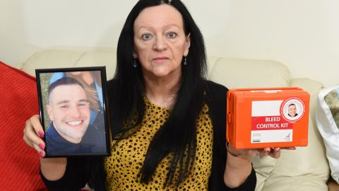 Heartbroken mum whose son was stabbed set to launch life-saving 'bleed kits' in more than 1,000 uk pubs Image