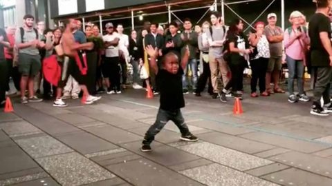 Seven-year-old Wows Internet With Breakdancing Skills Despite Dwarfism Image