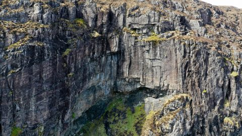 Spot The Climber! Mind-tricking Images Of The Scottish Highlands Image