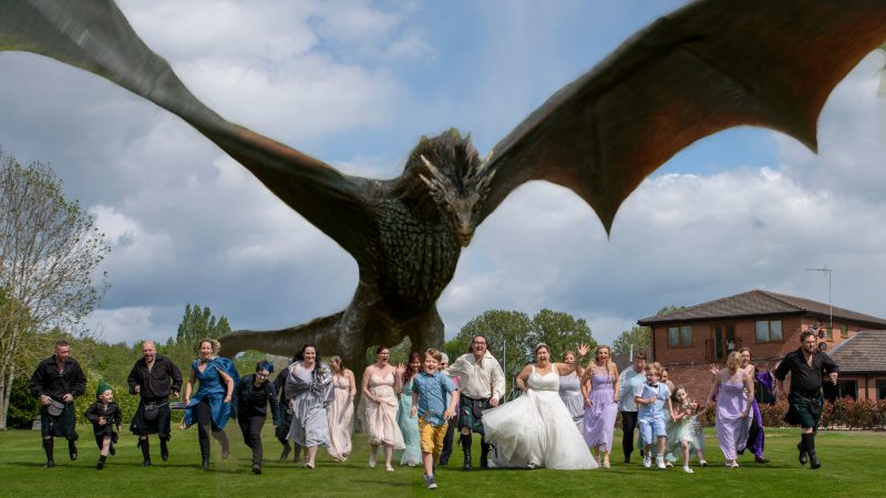 Wedding Is Coming: Childhood Sweethearts Reunited After 20 Years Through Love Of Medieval Tie The Knot With Game Of Thrones Nuptials Image