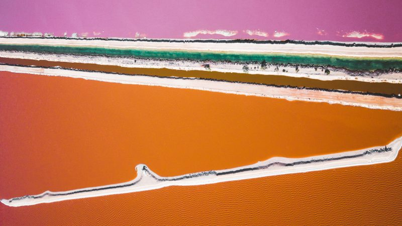 Breathtaking Images Of Colourful Lagoons Image