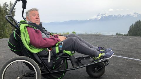 Quadriplegic Ex-pilot Of 30 Years Takes To The Skies Again In Once In A Lifetime Paragliding Flight Image