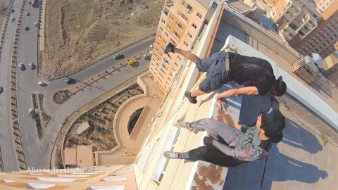 Daredevil Risks His Life With Dangerous Stunts In Honour Of Missing Father Image