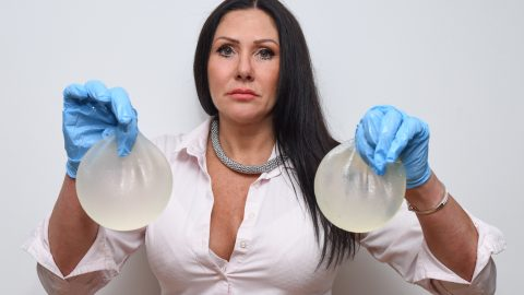 """I've risked my life six times for perfect boobs"" – 50-year-old spends £26k on implants after confidence hits rock bottom Image"