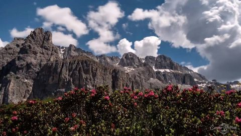 Photographer Captures Still Beauty Of Dolomites Mountains In Relaxing Time Lapse Footage Image