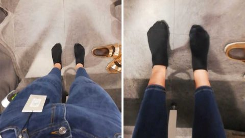 Stunning 6″2 model exposes struggle with buying jeans in high street stores in bid to make clothing sizes more diverse Image
