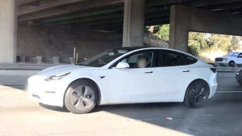 Snore-to pilot: driver spotted asleep behind wheel of tesla in rush hour traffic Image