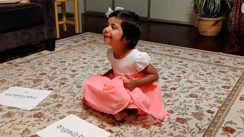 This Toddler Showcases Her Incredible Memory By Recognising And Recalling 'hello' In 25 Different Languages Image