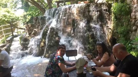 Stunning Restaurant Allows Guests To Sit In Waterfall Image
