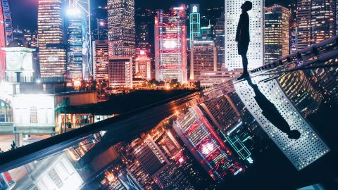 SCALING DEATH-DEFYING HEIGHTS TO SHOW HONG KONG IN NEW LIGHT Image