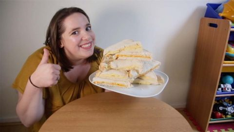 CHEESY DOES IT! MUM WITH FEAR OF FOOD HAS ONLY EATEN CHEESE SANDWICHES FOR 30 YEARS Image
