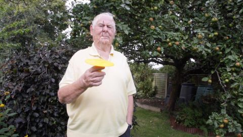 PENSIONER SPENDS £100K ON FAILED INVENTIONS… BUT SAYS HIS 'EUREKA' MOMENT IS COMING Image