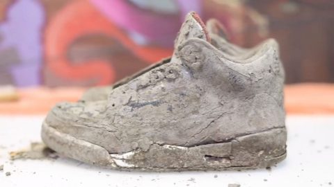 BEST FOOT FORWARD: SNEAKERHEAD RESTORES COCKROACH INFESTED $600 JORDANS BACK TO FORMER GLORY IN SATISFYING VIDEO Image