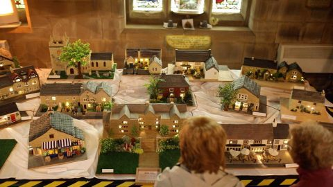 QUITE THE SHOWSTOPPER! BAKER MAKES MODEL OF HER ENTIRE VILLAGE OUT OF CAKE Image