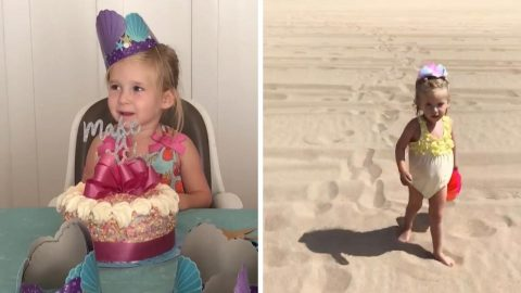 FOUR-YEAR-OLD GIRL WITH DEMENTIA DEFIES DEATH SENTENCE THANKS TO MIRACLE DRUG Image