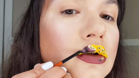 VINCENT VAN GLOSS – AMAZING 3D LIP ART Image