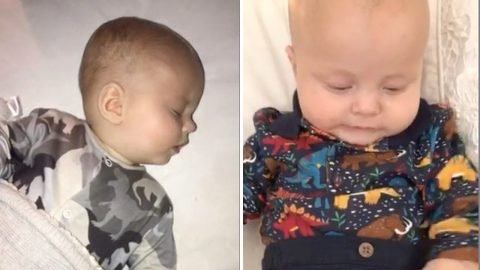 EXHAUSTED NEW MUM WOKEN EVERY 10 MINUTES BY SIX-MONTH-OLD BABY GETS HIM TO SLEEP EIGHT HOURS A NIGHT – THANKS TO 'MAGIC' £9.99 PILLOW SPRAY Image