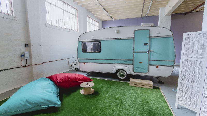 MUM-OF-TWO OPENS QUIRKY INDOOR CARAVAN PARK - AND AT JUST £49 PER NIGHT, BUSINESS IS BOOMING Image