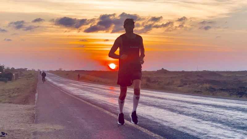 A MARATHON IN EVERY COUNTRY – MAN RUNS MARATHON IN EVERY COUNTRY IN THE WORLD Image