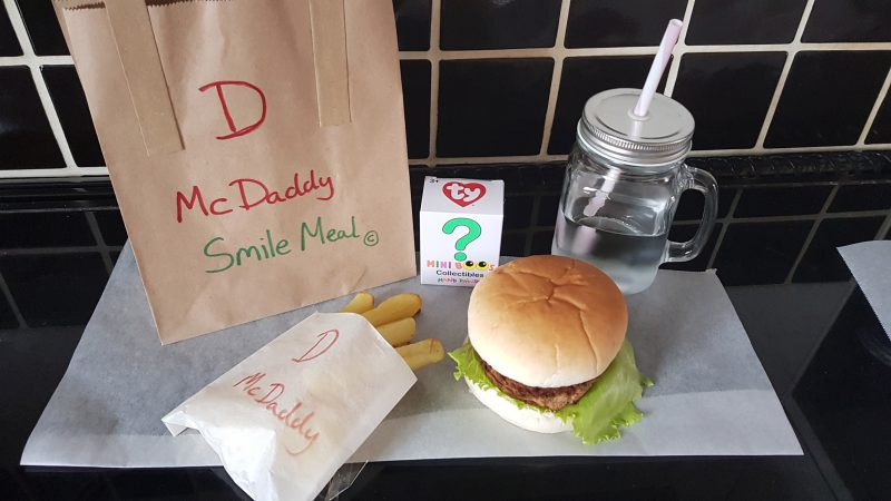 MAKE YOUR OWN MCDONALDS – GENIUS DAD MAKES CUSTOM MCDADDY MEAL FOR KIDS Image