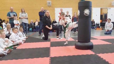 DAD WHO FORCED AMPUTEE SON TO TRY TAE KWON-DO IN BID TO STOP BULLIES SAYS ITS THE BEST DECISION HES EVER MADE Image
