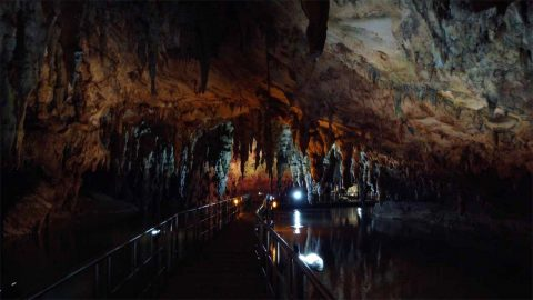 BREATHTAKING TOUR IN ONE OF EUROPE'S BIGGEST RIVER CAVES Image